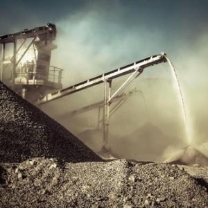 Controle de emissão de material particulado